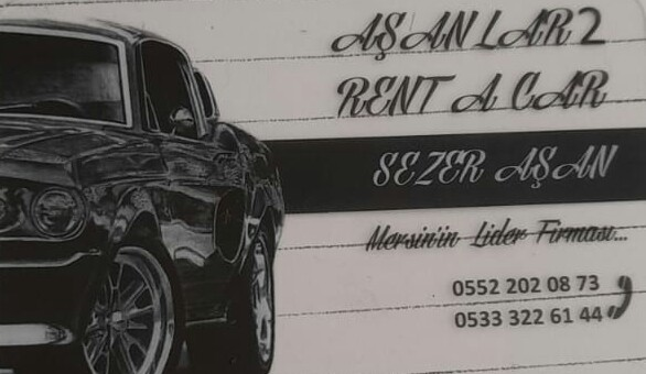 AŞANLAR2 RENT A CAR